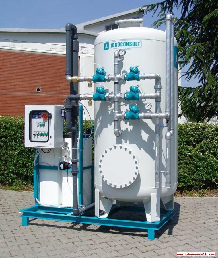 Deferrizzatore catalitico WFI/P 3 - Portata di trattamento 5 m³/h