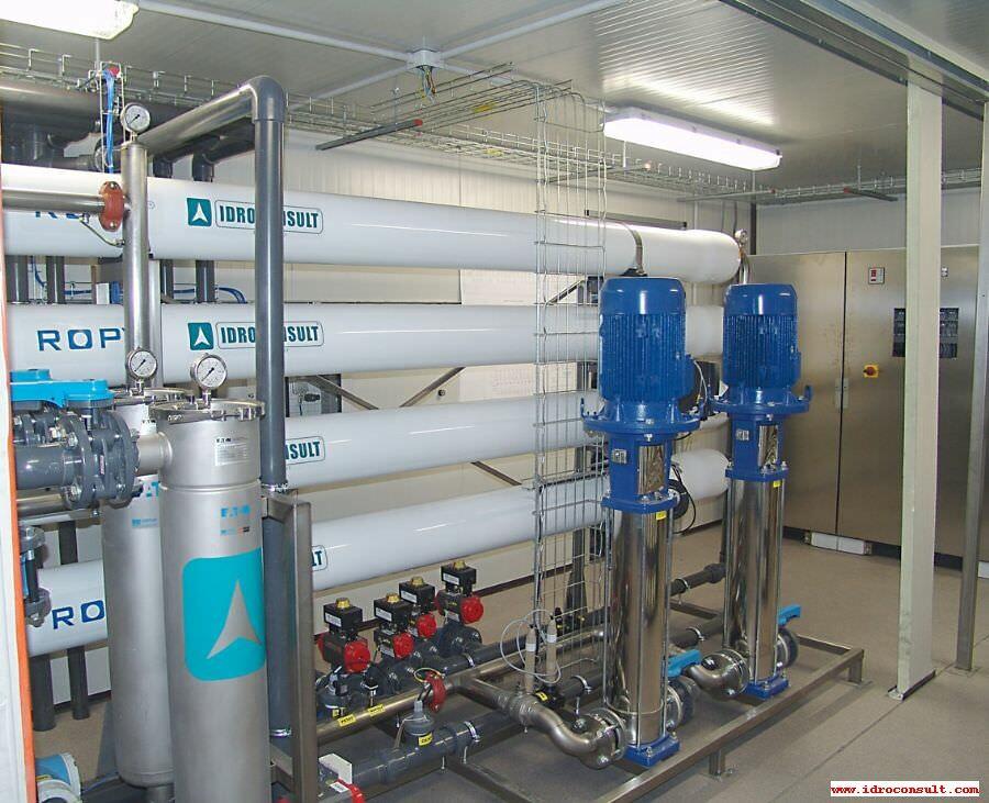 Impianti di trattamento reflui ospedalieri e reflui radioattivi.