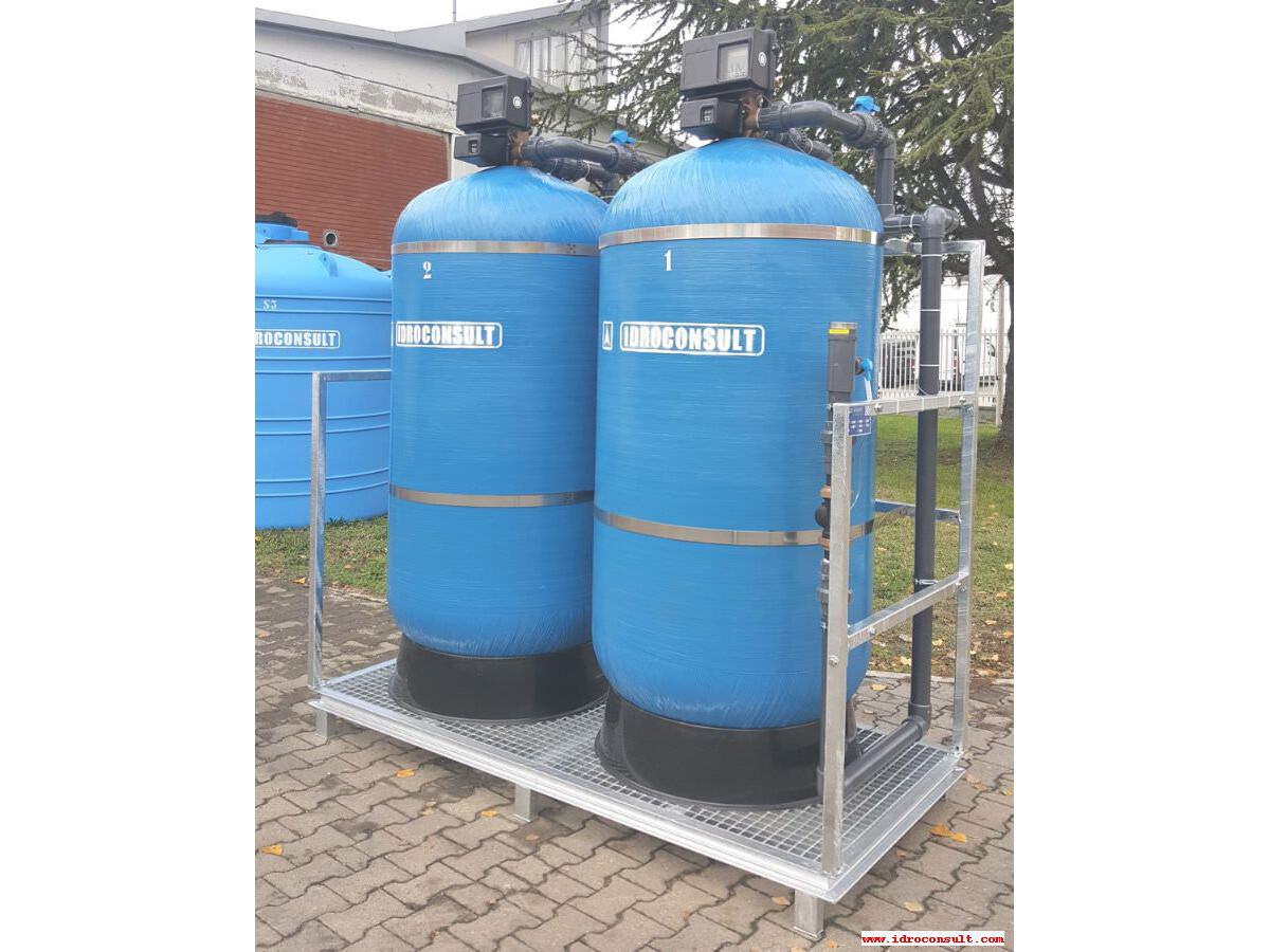 Addolcitore D 1380 per lavaggio cisterne