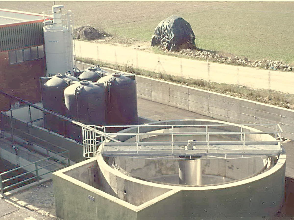 Scarichi trafileria di acciaio: 1700 m³/g