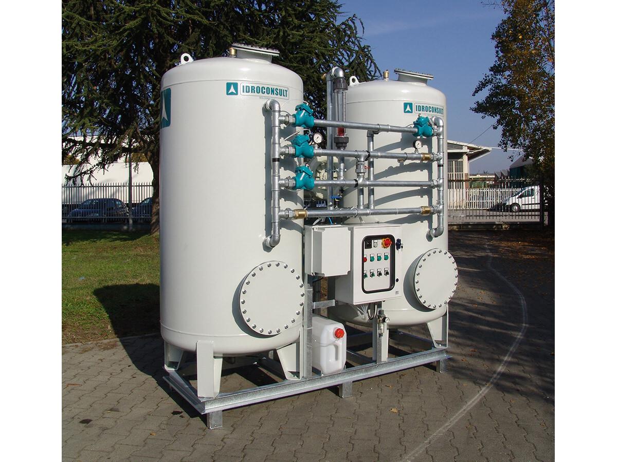 Impianto di recupero acqua