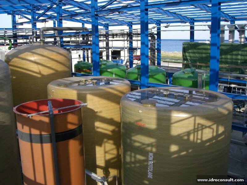 » Disinquinamento falde freatiche contenenti Idrocarburi, metalli in soluzione, torpidità, salinità.
