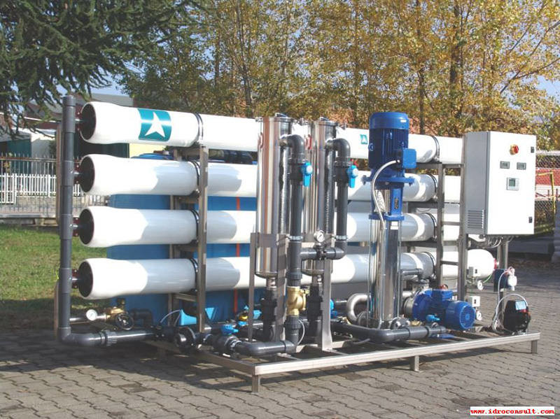 Produzione acqua per centrale termica » Produzione acqua per centrale termica