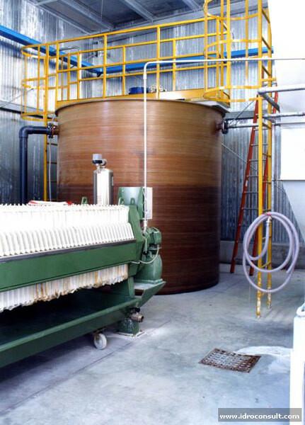 » Depurazione acque provenienti da lavorazione sgrassaggio filo d'acciaio