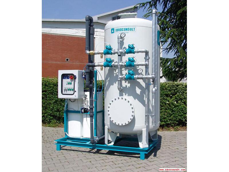 Deferrizzatore catalitico WFI/P 3 - Portata di trattamento 5 m³/h » Impianti di deferrizzazione