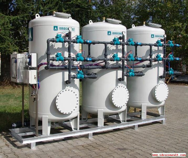 Deferrizzatore catalitico WFI/P 6 - Portata di trattamento 15 m³/h » Impianti di deferrizzazione