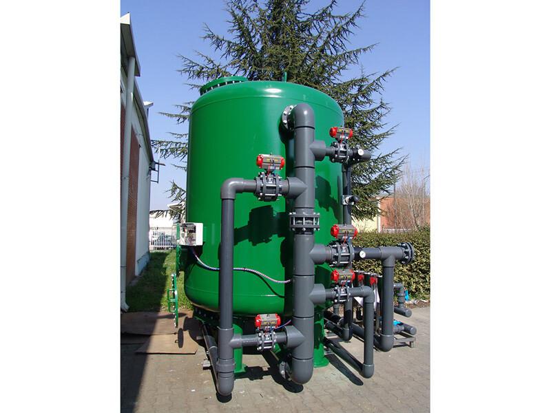 Deferrizzatore al manganese - 20 m³/ora