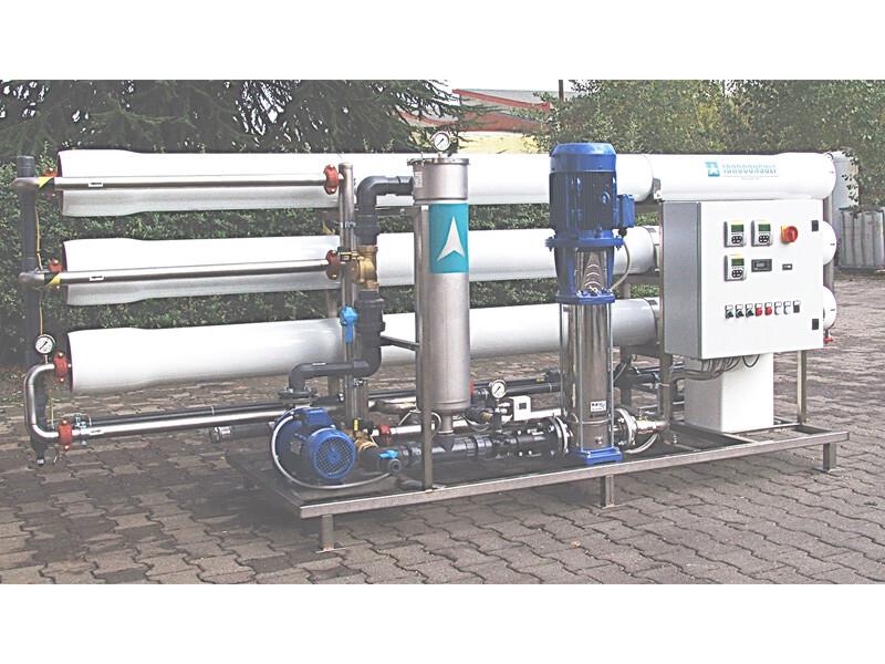 SM192 – Portata acqua osmotizzata 9 m3/ora