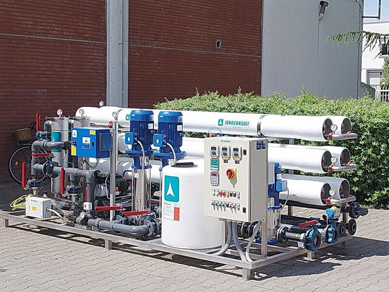 SM 336 Portata acqua osmotizzata: 14 m³/h