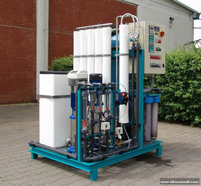 Produzione acqua per circuito raffreddamento » Produzione acqua per circuito raffreddamento