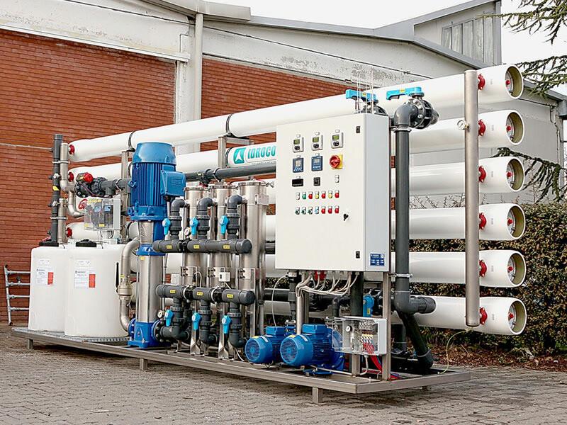 SM 600 Portata acqua osmotizzata: 25 m³/h