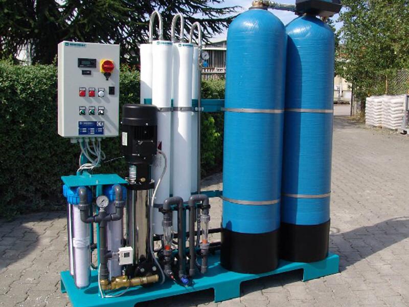 SK9 – Produzione 1,5 m³/h » L'acqua nei processi produttivi delle aziende cosmetiche e chimiche