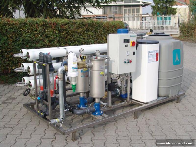 SM60 – Produzione 2,5 m³/h » L'acqua nei processi produttivi delle aziende cosmetiche e chimiche