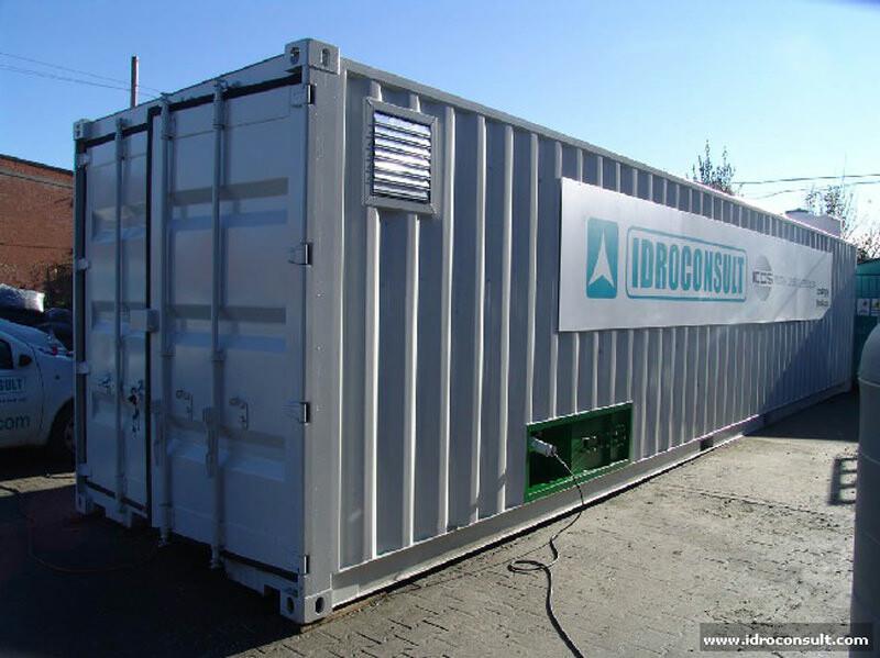 Vista esterna unità » Potabilizzatori in container
