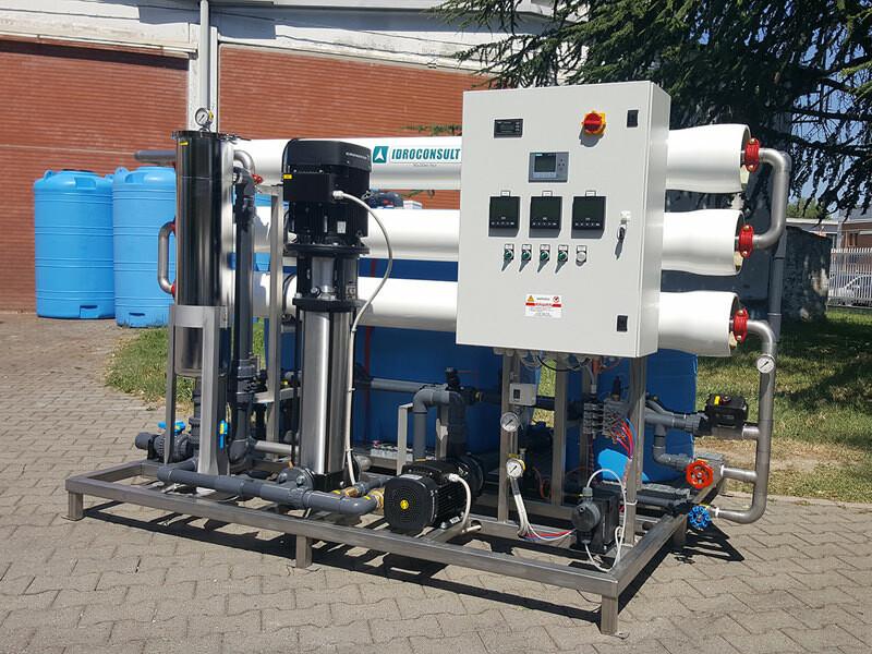 Impianto a osmosi inversa