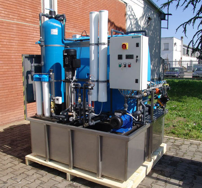 Produzione acqua a totale automazione » Impianti customized