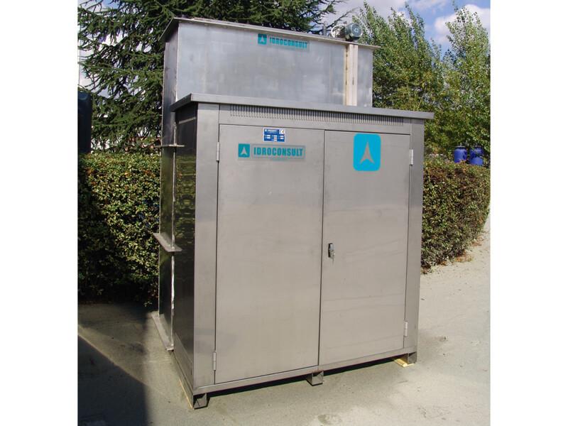 Impianto chimico fisico SL chiuso