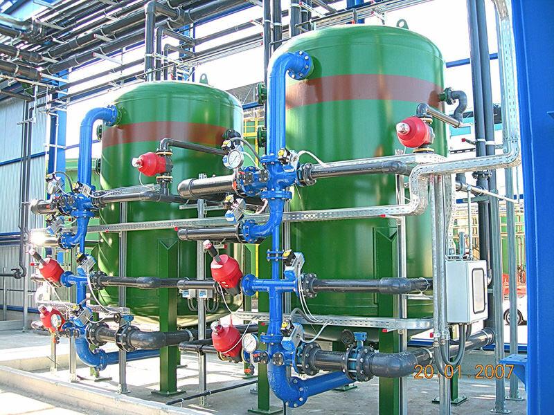 Filtri a resine chelanti Portata 120 m³/h