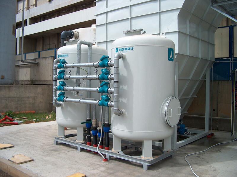 Filtrazione acqua a 20 m3/ora