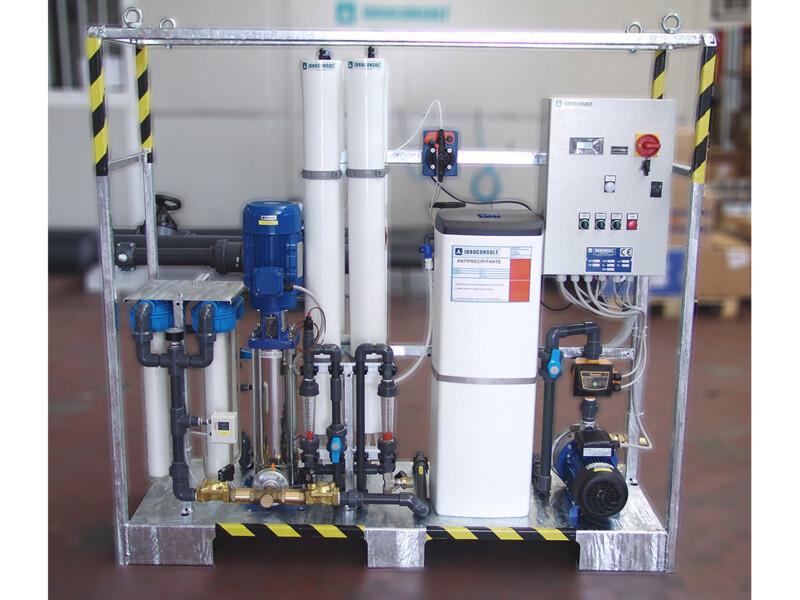 Osmosi trasportabile - produzione 1 m3/ora